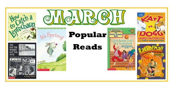 Popular Books For March