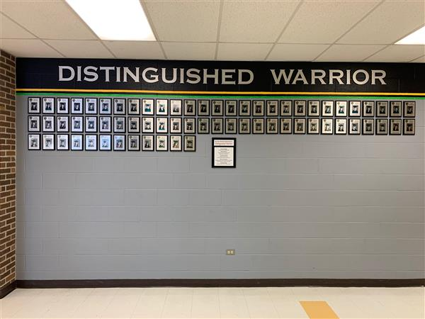 Distinguished Warrior Wall